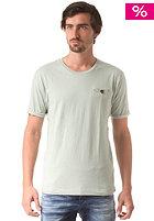 SELECTED Theo S/S O Neck T-Shirt aqua gray