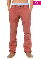 SELECTED Three Paris Chino Pant mahogany