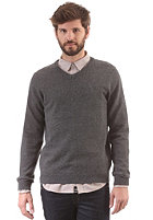 SELECTED Vito V Neck Knit Sweat grey melange