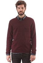 SELECTED Vito V Neck Knit Sweat winetasting