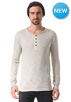 SELECTED Zan Split Neck Longsleeve marshmallow