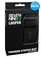 SEVEN NINE 13 Canvas Belt Strech Canvas black