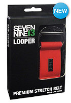 SEVEN NINE 13 Canvas Belt Strech Canvas red