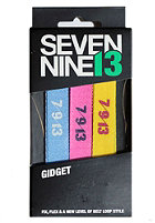SEVEN NINE 13 Gidget Pack Lace Belts mixed