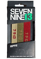 SEVEN NINE 13 Hippie Pack Lace Belts mixed