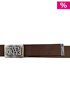 SEVEN NINE 13 Jaws Belt brown
