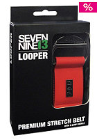 SEVEN NINE 13 Looper Belt red