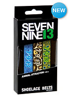 SEVEN NINE 13 Printed Shoelace Belt animal attraction