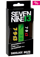 SEVEN NINE 13 Printed Shoelace Belt Rider pack 4 - E-Man, L Craford, R Rou rp4