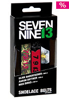 SEVEN NINE 13 Printed Shoelace Belt Rider pack 5 - A Biitner, U Badertsche rp5
