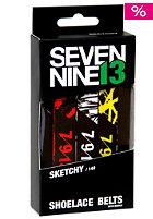 SEVEN NINE 13 Sketchy Shoelace Belt mixed