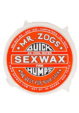 SEXWAX Quick Humps Wax 4X cool (17-21 �C) orange