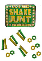 SHAKE JUNT Allen Bolts Screws 7/8 inch green/yellow