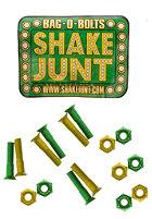SHAKE JUNT Allen Bolts Screws 7/8 inch green/yellow