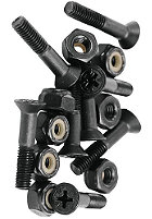 SHAKE JUNT Philips Bolts Screws 1 inch black