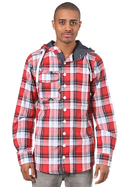 SHISHA Sanoj Shirt plaid summer red