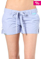 SHISHA Womens Poky Short plaid striped sky blue