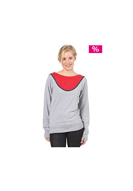 SHISHA Womens Robyn Top ash/dark red