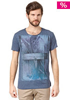 SILENT THEORY Freedom is Oxygen S/S T-Shirt blue