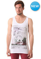 SILENT THEORY High But Grounded Tank Top white