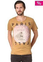 SILENT THEORY Paris In The Fall S/S T-Shirt mustard