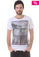 SILENT THEORY Silent Sences S/S T-Shirt white