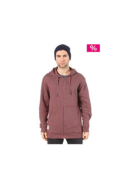 SITKA 2nd Peak Organic Hooded Zip burgundy