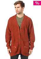 SITKA Birch Unisex Cardigan burgundy