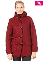 SITKA Womens Barton Duffle Coat burgundy