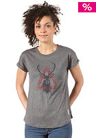 SITKA Womens Centered Jesse Williams Artist S/S Tee heather grey