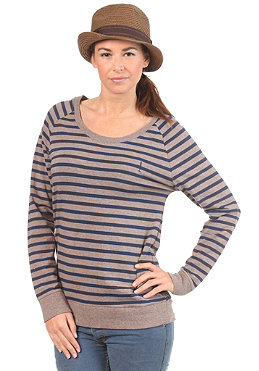 SITKA Womens Flora Crew Neck L/S Shirt rock stripe