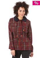 SITKA Womens Nahla Jacket red plaid