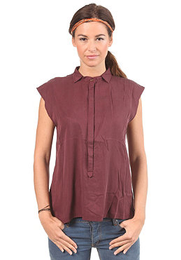 SITKA Womens Paiva Sleeveless Fashion Tank Top burgundy