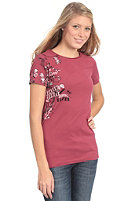 SIXXA Womens Fallen Angel S/S T-Shirt rumba red