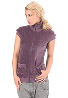 SIXXA Womens Pleasure Beach Sweat Jacket elderberry
