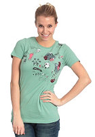 SIXXA Womens Prater S/S T-Shirt dusty jade