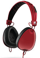 SKULLCANDY Aviator Headphones red/black/wayfarer w/mic3