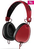 Aviator Headphones red/black/wayfarer w/mic3