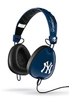 SKULLCANDY Aviator Headphones With Mic yankee navy/white/white