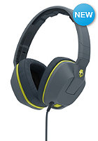 SKULLCANDY Crusher Over-Ear W/Mic 1 gray/hot lime/hot lime