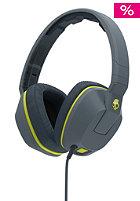 SKULLCANDY Crusher Over-Ear W/Mic 1 gray/hot lime/hot lime