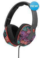 SKULLCANDY Crusher Over-Ear W/Mic 1 Headphones granny floral/dark gray/red