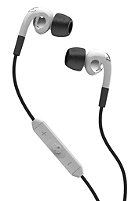 SKULLCANDY Fix In Ear Headphones white/crome w/mic3