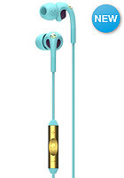 SKULLCANDY Fix In-Ear W/Mic 3 Headphones tiffany/smoked purple/gold