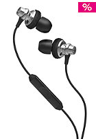 SKULLCANDY Heavy Medal In-Ear Headphones  w/mic chrome/black