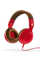 SKULLCANDY Hesh 2.0 Headphones With Mic red/brown/copper