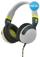 SKULLCANDY Hesh 2 Over-Ear W/Mic1 Headphones light gray/dark gray/hot lime