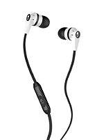 SKULLCANDY INKD 2.0 In Ear Headphones With Mic white black white