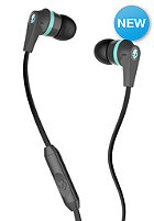 SKULLCANDY Inkd 2.0 In-Ear W/Mic 1 Headphones carbon/carbon/mint