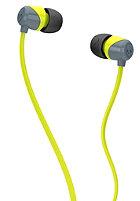 SKULLCANDY Jib In-Ear Headphones gray/hot lime/hot lime